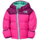 The North Face Infant Nuptse Hoodie Azalea Pink